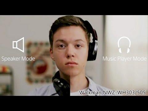 Walkman | NWZ-WH303/505 | 喇叭、耳機與 Walkman 3合1