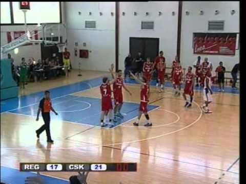 Coby Karl full-court Buzzer Beater (Grissin Bon Reggio E. - CSKA Mosca)