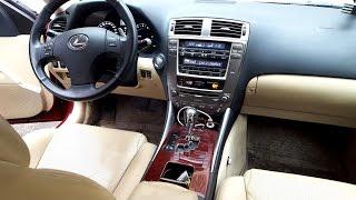 Відгук власника Lexus IS250 2007 року випуску
