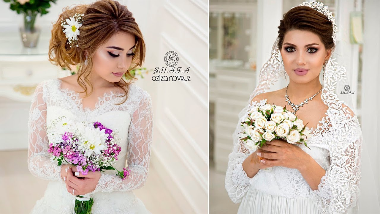 Beautiful Bridal makeup and hairstykes transformations by ...