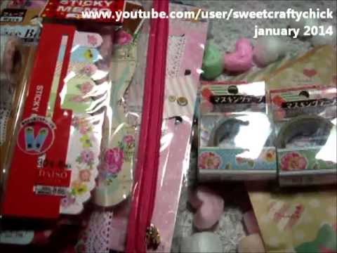 Daiso, Hello Kitty, Project Life Goodness from love4creativity - Thanks sweetie :)! - January 2014