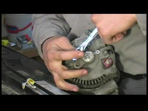 2005 Ford Alternator Wiring Diagram How To Rebuild An Alternator How To Remove The Voltage