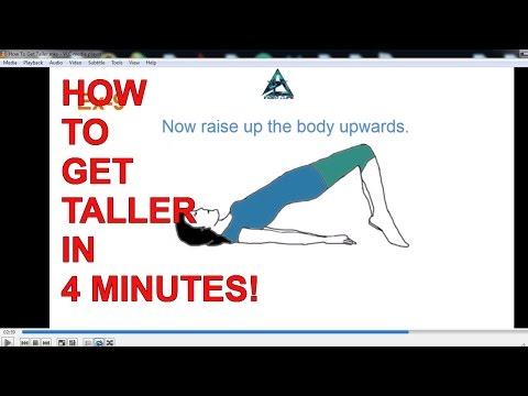 How To Get Taller Fast Naturally