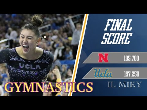 GINNASTICA ARTISTICA - NEBRASKA VS UCLA 2019 [UNIVERSITY USA