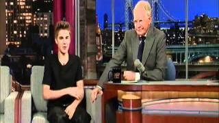 David Letterman - Justin Bieber's New Tattoo