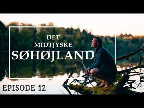 På Tur Gennem Søhøjlandet // Danmarks Højst Beliggende Landskab // Naturen I Danmark