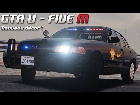 GTA 5 - Law Enforcement Live - Nouveau décor ! (Five M)