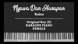 Download lagu Nyawa Dan Harapan - Raisa (FEMALE KARAOKE PIANO COVER)