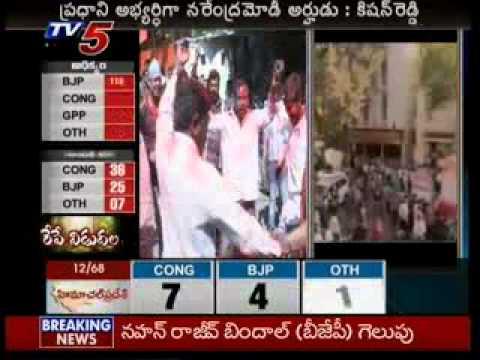 BJP Set For Hat-trick In Gujarat-TV5