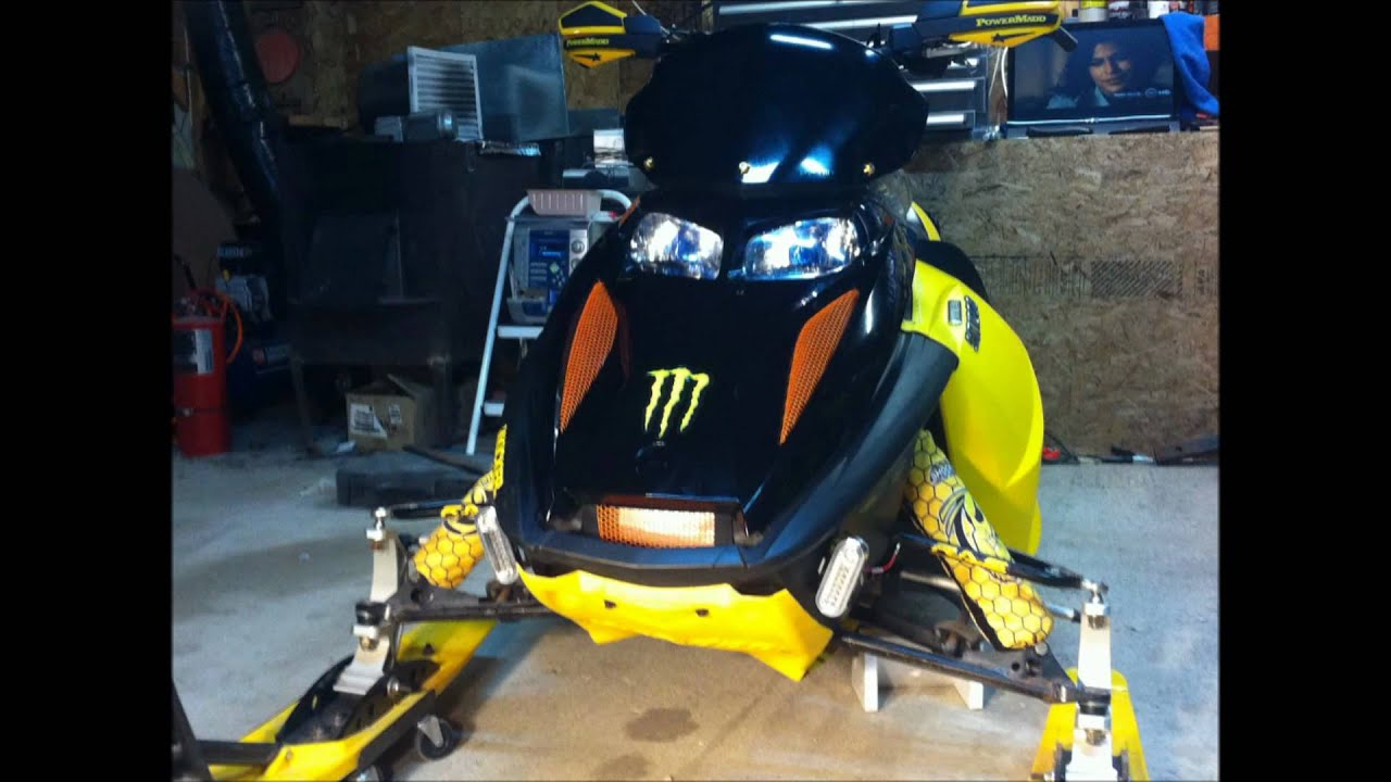 2011 2012 CUSTOM Ski Doo REV 800HO OVERHAUL Limited ...