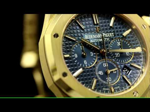 Focus sur le Chronographe Royal Oak or jaune d'Audemars Piguet