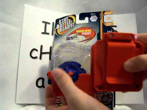Beyblade Metal Fusion Rapid Deploy Case Unboxing Part 2 ...