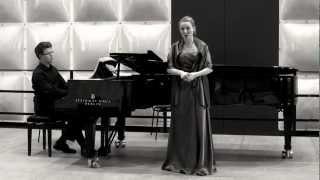 """Johannes Brahms - Verzagen aus """"Fünf Lieder"""" Op. 72 No. 4"""