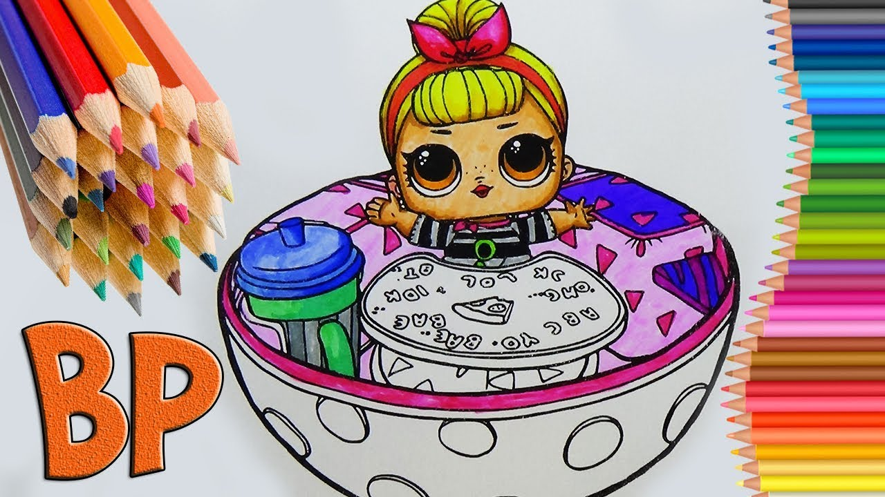 lol surprise coloring book lol dol coloring pages how to
