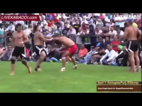 canada kabbadi cup 2016- semi 1 between  Shere Punjab Sports Kabaddi Club Vs. Abbotsford Club.