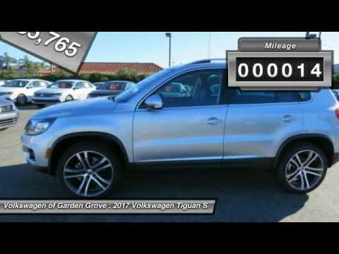 2017 Volkswagen Tiguan Garden Grove CA HK016105 YouTube