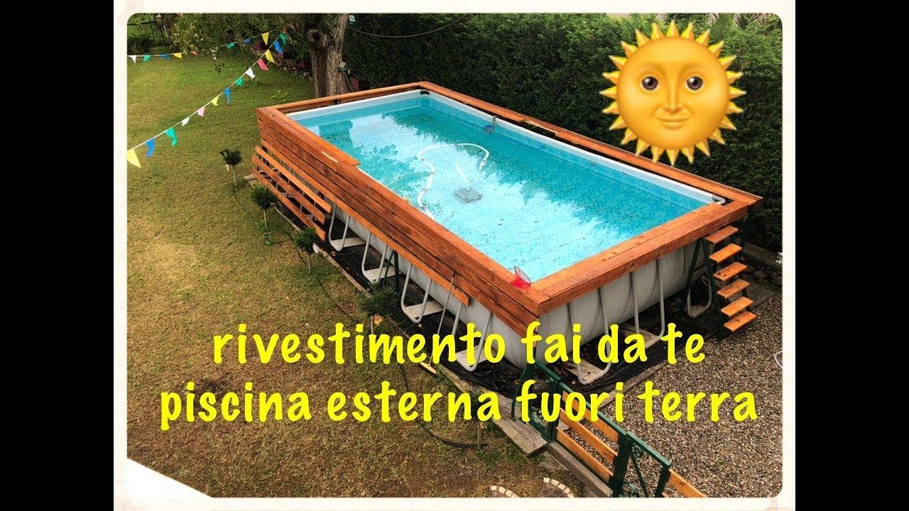 Piscina Da Esterno Fuori Terra rivestimento piscina