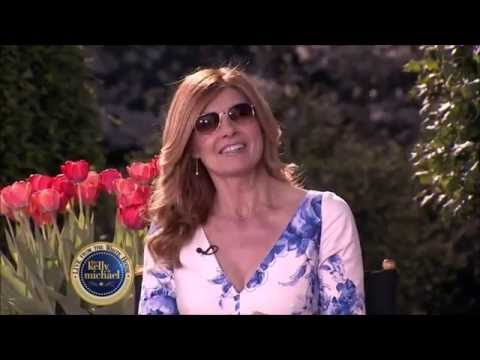 Connie Britton Live! With Kelly and Michael  2015 04 06