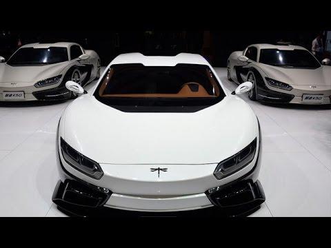 China's First Supercar – Qiantu K50 Event – At Shanghai Auto Show