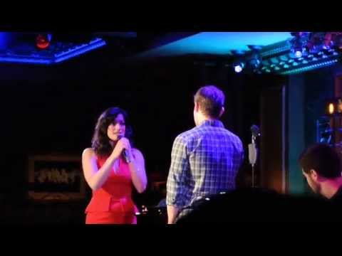 Jeremy Jordan & Laura Michelle Kelly  What You Mean To Me @ 54Below
