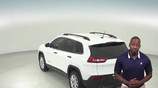 A97386PT - Used, 2016, Jeep Cherokee, Sport, White, SUV,  Test Drive, Review, For Sale -