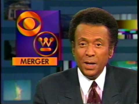 WCBS 11pm news Nov. 22, 1995 - CBS Merger; Mike Taibbi Limelight pkg NYC; JFK observance