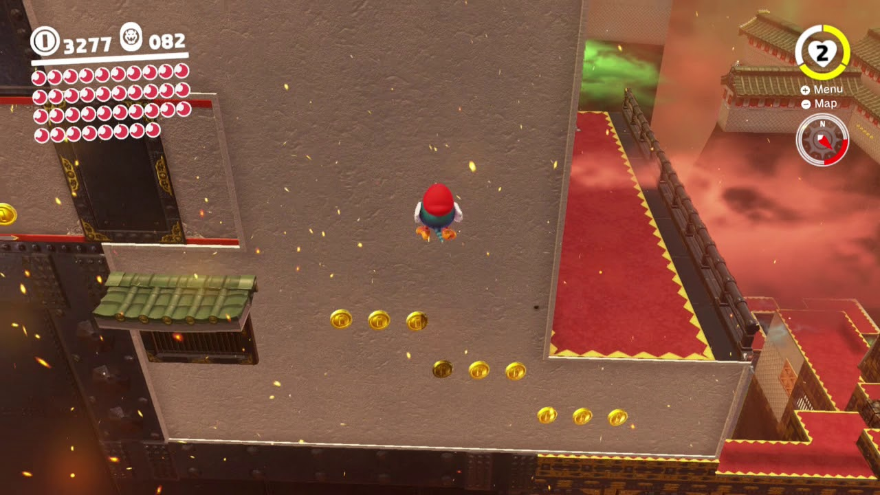 Bowser S Kingdom Power Moon 9 Past The Moving Wall Youtube