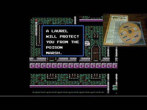 Castlevania 2 Simon's Quest - Berkeley & Rover mansions