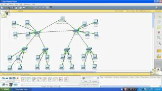 Repeat youtube video VLAN , VTP & DHCP on cisco switch through Packet Tracer 5.3 part 1