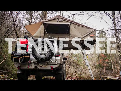 4Runner Camping in the Tennessee Backwoods -  Lifestyle Overland S2E3