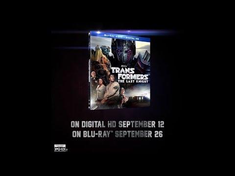 Transformers: The Last Knight - Digital & Blu-ray DVD