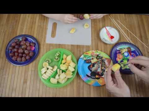 Готовим канапе из фруктов ○ Cooking fruit canape