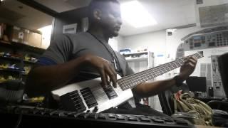 Benjai Ft H20 Phlo - Phenominal (Kan Kan Riddim) bass cover