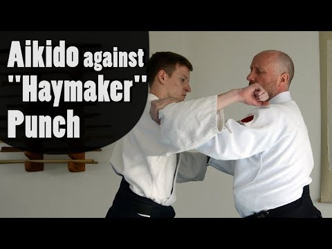 """Aikido Against """"Haymaker"""" Punch"""