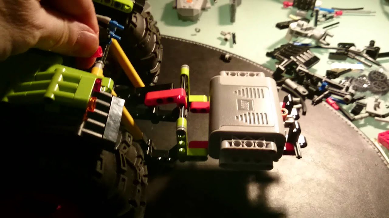 how to make a lego trailer hitch