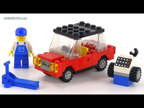 lego classic town 6655 auto tire repair from 1984 youtube. Black Bedroom Furniture Sets. Home Design Ideas