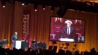 Harrison Ford's speech at the Gala for Ambassadors for Humanity