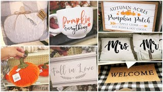 Fall Decor Shop With Me At Hobby Lobby + Huge Clearance Sale