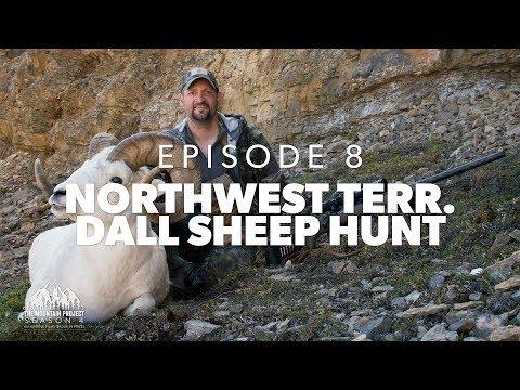 Cody's Huge Dall Ram  - Ep. 8 - Dall Sheep Hunt at Arctic Red River