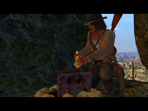 Red Dead Redemption - Treasure Hunting! (All Locations)