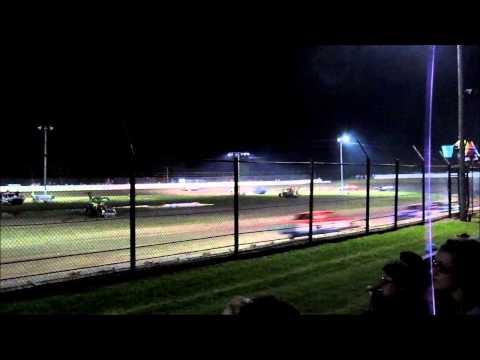 Caney Valley Speedway Pure Stock Feature June 5 2015
