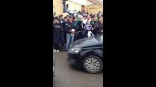 La fiesta au lycée Hamou Boutlilis , Oran , Algerie
