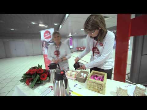 Aéroports de Lyon : la Journée de la Gentillesse !