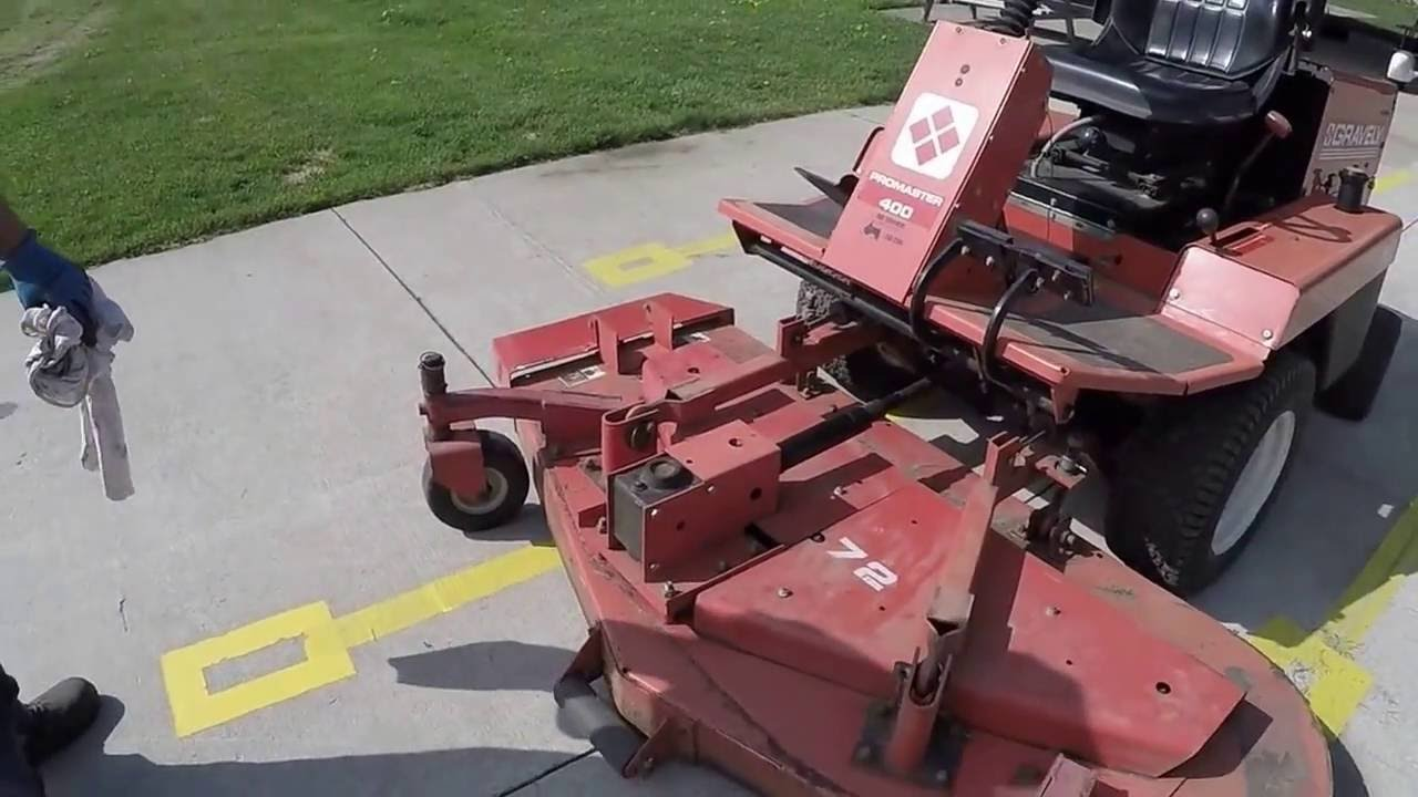 wofc gravely promaster 400 safety video youtube rh youtube com