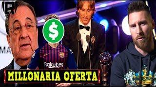 BOMBA: MILLONARIA OFERTA del MADRID para un SUPER FICHAJE | MODRIC GANA el THE BEST | MESSI ENOJADO