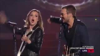 eric church thats damn rock n roll ft lzzy hale cma 2014 fixed audio