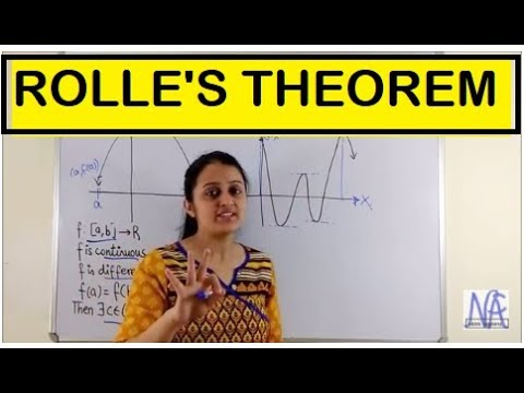 ROLLE'S THEOREM-MEAN VALUE THEOREMS PART-I (CONTINUITY AND DIFFERENTIABILTY PART 13)
