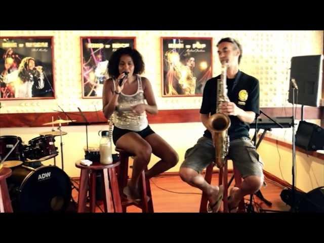 Repetitie Manoushka Breeveld & Efraim Trujillo @ Grill Café AMSTERDAM