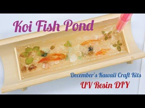 UV Resin DIY Koi Fish Pond-December's Kawaii Craft Kits