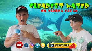 CLEAREST-WATER On Planet Earth 【CRYSTAL Clear Water】